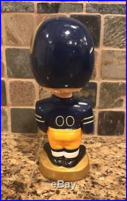 Vintage 1960s Los Angeles Rams NFL Bobblehead. Made In Japan. 7.5 Tall. Rare