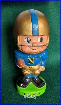 Vintage 1960s NAVY College Football Bobble Head Nodder