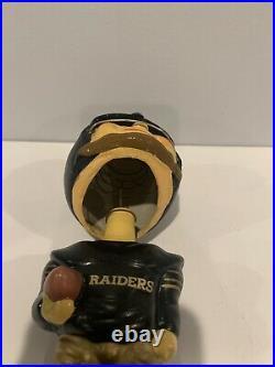 Vintage 1960s Oakland Raiders AFL Toes Up Nodder Bobblehead