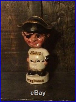 Vintage 1960s Pittsburg Pirates Mini Nodder