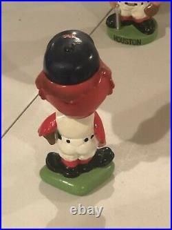 Vintage 1960s St. Louis Cardinals Bobblehead Nodder Green Base