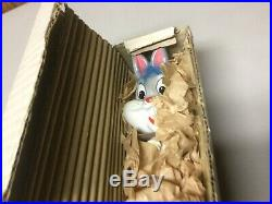 Vintage 1960s bugs bunny bobble head with original box PLEASE READ RARE