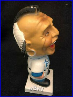 Vintage 1961 Milwaukee Braves Nodder Bobblehead-Square White Base-Chief Nokohama