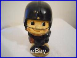 Vintage 1961 Oakland Raiders Toes Up Bobblehead Nodder