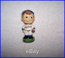 Vintage 1962/64 Green Base LA Dodgers Nodder/Bobble Head NMT