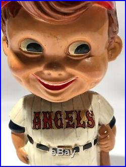 Vintage 1962 Los Angeles Angels Bobblehead Anaheim California Green Base Japan