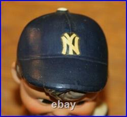 Vintage 1962 New York NY Yankees Green Base Bobble Head Nodder Bobblehead