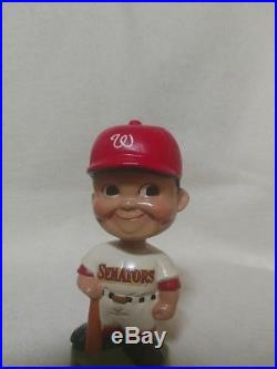 Vintage 1962 Washington Senators Bobblehead Nodder