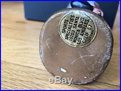 Vintage 1967 OAKLAND RAIDERS AFL Decal Bobble Head Football RARE Super Nice