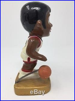 Vintage 1969 Philadelphia 76ers LIL Dribbler Bobbing Head Nodder Near Mint Nice