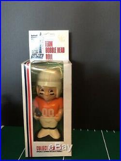 Vintage 1980's Skore Tennessee Vols Bobble Head Uniform In Box Rare Nib