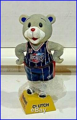 Vintage 2001-02 Clutch Mascot Houston Rockets Bobblehead SGA NIB
