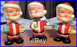 Vintage 3 Santa