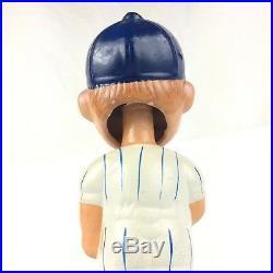 Vintage 60s New York Mets Baseball Batter Bobble Head Bobblehead Nodder Doll