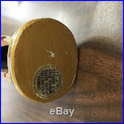 Vintage Baltimore Colts 1960's NFL Bobblehead Nodder Gold Base 1967 Japan Rare