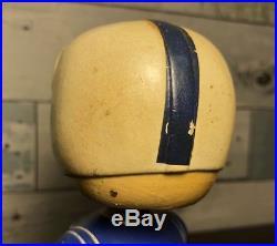 Vintage Baltimore Colts Blue Square Base Bobblehead Nodder