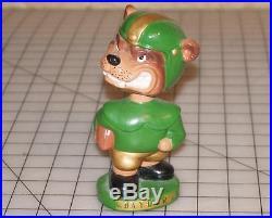 Vintage Baylor Bears mascot Bruin Bobble head/Baylor University 1960's Japan