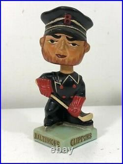 Vintage Bobble Head BALTIMORE CLIPPERS AHL Minor League Mascot