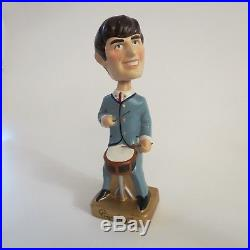 Vintage Bobble Head Ringo Star Car Mascots Beatles 1964 Drummer Awesomeness