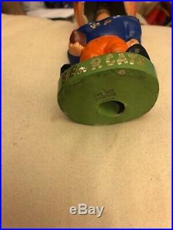 Vintage Bobblehead Green Base Series Rare Nodder