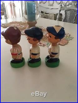 Vintage Bobblehead Lot Baseball Seattle Mariners Phillies Blue Jays Toronto