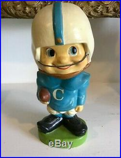 Vintage COLUMBIA UNIVERSITY LIONS Football Bobblehead c. 1960 JAPAN Bobble Head