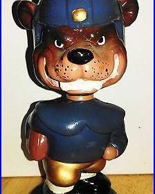 Vintage Cal Bears mascot (Oksi) Bobble head / UC Berkeley 1960