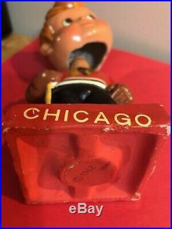 Vintage Chicago Blackhawks Original NHL Bobblehead 1962 Rare Collector Hockey