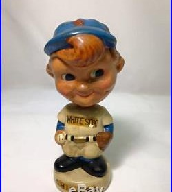 Vintage Chicago White Sox bobblehead nodder bobble head pitcher Japan magnetic