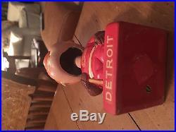 Vintage Detroit Red Wings Hockey Bobble Head