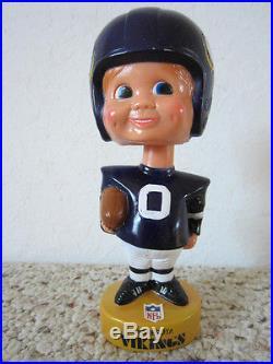 Vintage Football Minnesota Viking Bobble Head Doll