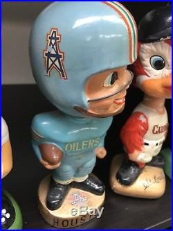 Vintage Houston Oilers Football Bobblehead Japan 1967