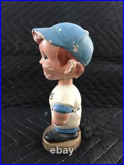 Vintage LA Los Angeles Dodgers MLB Gold Base Nodder Bobble Head #32 Sandy Koufax