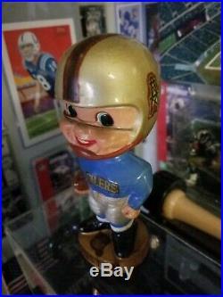 Vintage Late 1960's Houston Oilers Bobblehead Nodder