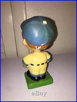 Vintage Los Angeles Dodgers Baseball Bobblehead Japan Green Base