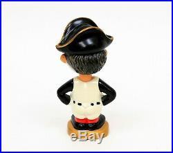 Vintage MLB Baseball Pittsburgh Pirates Mascot Nodder Bobble Head GOLD Base +Box