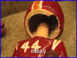 Vintage Made In Japan Virginia Tech Gobblers Bobble Head Nodder