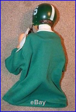 Vintage Michigan State University Spartan Big Ten Bobblehead Action Puppet Msu