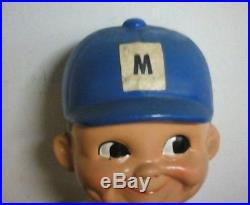 Vintage Milwaukee Brewers 1968 Bobblehead Made In Japan First Production No Box
