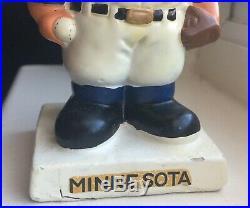 Vintage Minnesota Twins Bobble Head Figure Nodder