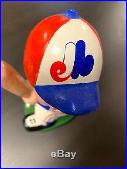 Vintage Montreal Expos Bobble Head Bobblehead Nodder MLB Baseball Canada
