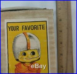 Vintage Navy Midshipman Football Bobblehead Nodder 1960s Japan NCAA USNA