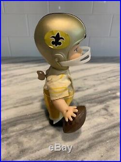 Vintage New Orleans Saints 1967 Horsman Doll Nodder Bobblehead RARE