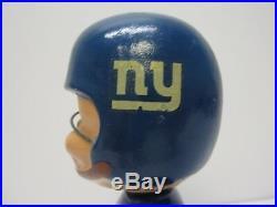 Vintage New York Giants 1967 RARE Football Gold Base NFL Football Bobblehead