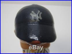 Vintage New York Yankees 1970s Green Base RARE Baseball Bobblehead Nodder