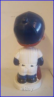 Vintage New York Yankees white circle base nodder bobble bobblehead 1962 Japan