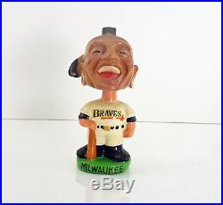 Vintage Original Milwaukee Braves Bobblehead Head Nodder