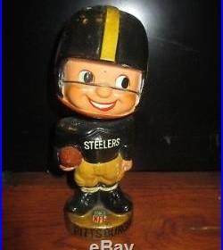 Vintage Pittsburgh Steelers Bobblehead Rare