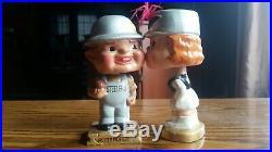 Vintage Pittsburgh Steelers Kissing Bobbleheads Nodders