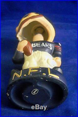 Vintage RARE 1960'S NFL CHICAGO BEARS FOOTBALL BOBBLE HEAD NODDER
